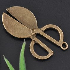 Bronze antique scissors