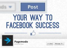 Infographic: Post Your Way To Facebook Success - Marketing Technology Blog