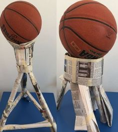 28 Awesome STEM Challenges for the Elementary Classroom - Basketball Challenge - Teach Junkie Here is an amazing list of clever, unique and simple set up STEM challenges and lesson plans from other teachers. Défis Stem, Stem Classes, Stem Science, Physical Science, Science Education, Earth Science, Science Experiments, Kids Education, Stem For Kids