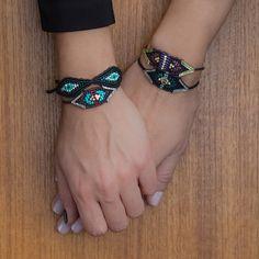 Zoe Kompitsi | Green Tsavorites Bracelet Macrame Jewelry, Macrame Bracelets, Jewlery, Evil Eye Bracelet, Handmade Accessories, Jewelry Crafts, Turquoise Bracelet, Diy And Crafts, Beading