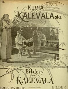 The Life and Art of Sigfried August Keinänen - Photos of the Kalevala Booklet Cover – Siegfried August Keinänen Finland The Life, Booklet, Finland, Vintage Photos, Mythology, Culture, Portrait, Drawings, Cover