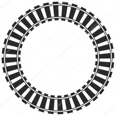 curved train track clip art images pictures becuo clip art rh pinterest com train track clipart train track clipart border