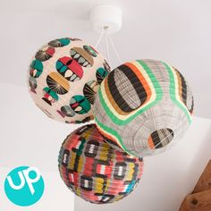 suspension-boules-japonaises-retro-vintage