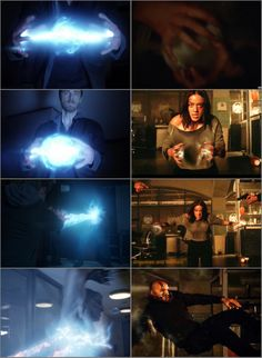 Daisy and Lincoln forming energy spheres of their respective powers and wiping the floor with everyone else in the room. Go Staticquake, literal power couple. Agents of Shield