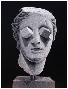 Two Dimensions : Daniel Arsham  -  Buamai, Where Inspiration Starts.