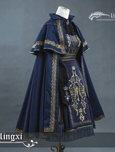 """lolita-wardrobe: """" Another Chance To Preorder 【LingXi -Royal Academy- Series】 ◆ Limited Colors and Sizes Available >>>. Old Fashion Dresses, Fashion Outfits, Casual Dresses, Kohls Dresses, Dresses Dresses, Summer Dresses, Pretty Dresses, Beautiful Dresses, Moda Lolita"""