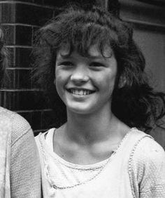 Catherine Zeta-Jones as a child