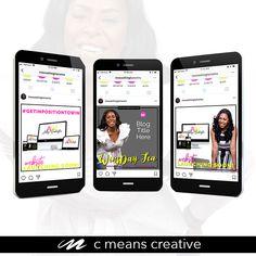 #cmeanscreative #socialmedia Freelance Graphic Design, Design Agency, Social Media, Creative, Blog, Blogging, Social Networks, Social Media Tips