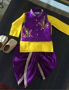 Baby Boy Ethnic Wear, Kids Ethnic Wear, Baby Boy Dress, Baby Boy Outfits, Kids Outfits, Family Outfits, Kids Dress Wear, Dresses Kids Girl, Baby Dresses