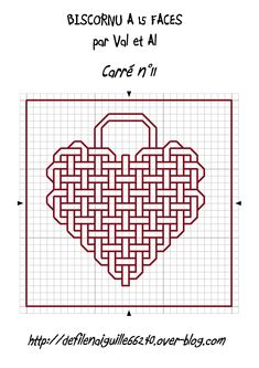 Embroidery heart design sew 36 Ideas for 2019 Motifs Blackwork, Blackwork Cross Stitch, Celtic Cross Stitch, Blackwork Embroidery, Cross Stitch Heart, Cross Stitch Embroidery, Graph Paper Drawings, Graph Paper Art, Cross Stitch Designs
