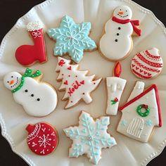 プレゼント用クリスマスアイシングクッキー♡ - 85件のもぐもぐ - クリスマスアイシングクッキー by Chez Blanca
