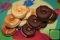 Donuts sin gluten y sin lactosa