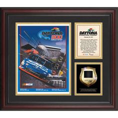 Fanatics Authentic 1997 Daytona 500 Program 3 Photograph Core Collage with Sprint Tower Banner-Limited Edition of 500 - $89.99