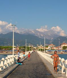 Pin for Later: 15 Off-the-Beaten-Path Italian Towns You Need to Visit Forte dei Marmi Located on the western side of Tuscany, Forte dei Marmi is a popular beach destination for Italians.