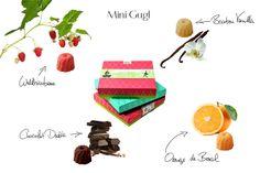Mini Gugl - 20 Gugl/Box - €18,90 mit persönliche Grüße ganz genussvoll! #sweetcouturede #gift #easter #present #macarons