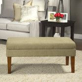 Found it at Wayfair - Kinfine Decorative Upholstered Bench   $99.99