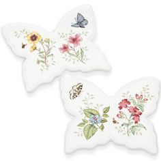 The Butterfly Meadow® 2-pc Trivet Set adds a beautiful, graceful, functional…