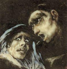 Francisco Goya, Monk talkng to an old woman