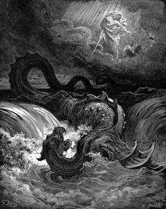Gustave Doré's Dramatic Illustrations of Dante's Divine Comedy #dore #dante #divinecomedy