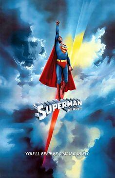 Superman - O Filme (Superman), 1978. Love the original Super Man movie <3