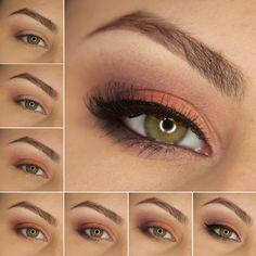 Zoeva Warm Spectrum | makijaż krok po kroku | aGwer / blog kosmetyczny, wizaż i nie tylko!