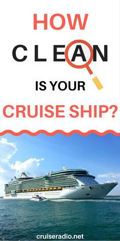 Find Out How Clean Your Cruise Ship Is