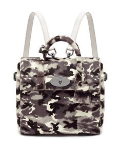 7a008edf24e MINI CARA DELEVINGNE BAG IN MONOCHROME CAMOUFLAGE CALFHAIR FOR MULBERRY  Fall Fashion Trends 2014 fashionights.