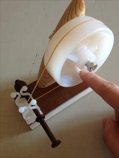 handmade bobbin winder