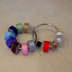 Binder Rings I can't believe I never thought of this.