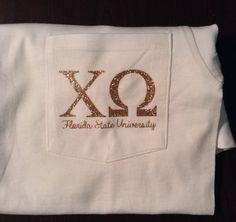 Glitter Heat Transfer Greek Letters for T Shirts Tanks Pillows