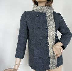 Vintage Circa 1960's Franklin Simon of New York Wool Jacket. 80.00, via Etsy.