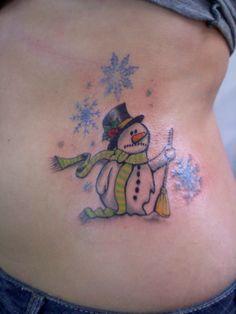sad snowman tattoo Large Tattoos, Great Tattoos, Body Art Tattoos, Sleeve Tattoos, Tatoos, Story Tattoo, Pretty Tattoos For Women, Tree Tattoo Designs, Tattoo Ideas