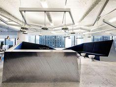 Lounge do escritório McCann Offices
