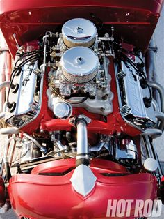 392 Chrysler Hemi Big Block Engine