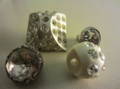 Vintage Buttons  beautiful  mixed lot of by pillowtalkswf on Etsy, $6.75