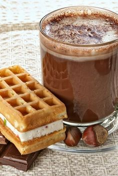 Nutella Hot Chocolate  Ingredients: 3 tablespoons nutella 1 1/3 cups milk.  Put Nutella and 1/3 cup milk in small saucepan over medium heat. Whisk until blended. Add remaining milk, increase heat to medium-high, and whisk until hot and frothy.