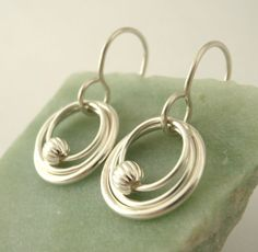 My Three Hoops Petite Earrings - Sterling Silver