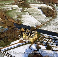 Longford Castle, south of Salisbury, Wiltshire, England, built in the early 16th century