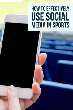Social media in sports can be used as a tool for coaches to drum up community support and direct the attention of college scouts to high school athletes.