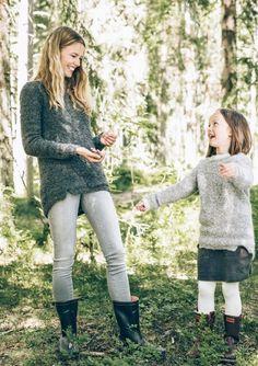 Oppskrifter - Alle gratisoppskrifter - Genser - Dame - Strikke - Norsk - Sandnes Garn Tweed, Crochet Top Outfit, Minimalist Lifestyle, Black Sweaters, Runway Fashion, Knit Crochet, Blog, Cute Outfits, Knitting