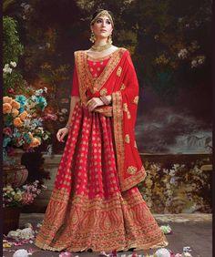 5935af9977 Party Wear Lehenga, Lehenga Suit, Silk Lehenga, Lengha Choli, Bollywood  Lehenga,