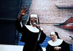 Sister Act 2 Sister Act 2, Whoopi Goldberg, Black Actresses, Star Wars, Great Movies, Comedians, Movies And Tv Shows, Movie Tv, Acting