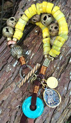 African Tribal Bracelet   Boho Jewelry   Unique Handmade   XO Gallery   XO Gallery