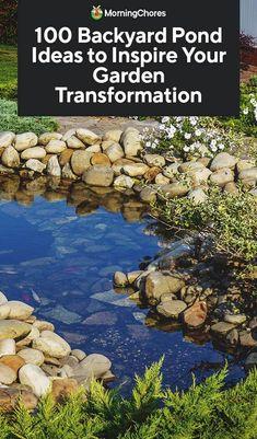 Pond Design, Landscape Design, Garden Design, Design Design, Garden Arbor, Garden Paths, Ponds Backyard, Backyard Waterfalls, Koi Ponds