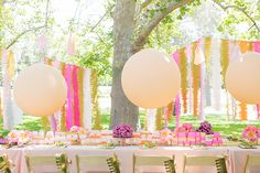 Pink peony picnic birthday party for Mila | 100 Layer Cakelet. Photos: @111jenna DIY Tutorials: @jordanferney Balloons + Crowns: @sweetlulu