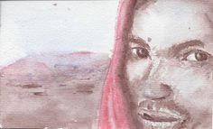 Migrant :: Jules Artvan Watercolours :: from the artist to your letter box