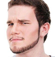 Chin Strap Beard with Mustache