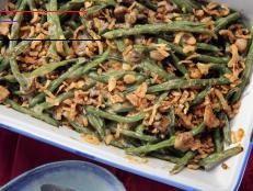Homemade Green Bean Casserole - #farmhouserulesrecipes Homemade Green Bean Casserole, Classic Green Bean Casserole, Food Network Farmhouse Rules, Roasted Turnips, Ragu Recipe, Roasted Beet Salad, Greenbean Casserole Recipe, Goat Cheese Salad, Cooking 101