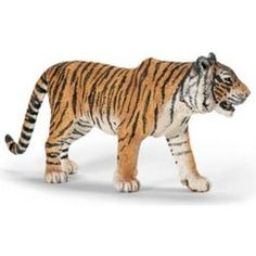 """Schleich World of Nature: Wild Life Collection - Tiger - Schleich - Toys""""R""""Us Toys R Us, Zoo Toys, Farm Toys, Kids Toys, Wild Life, Baby Tigers, Rodeo Cowboys, Sculptures, Asia"""