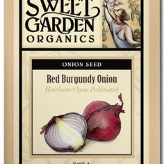 Red Burgundy Onion  from The Scribbled Hollow for $2.89 on Square Market